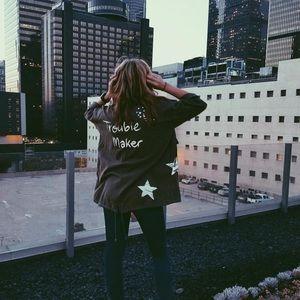 Zara Trouble Maker Jacket